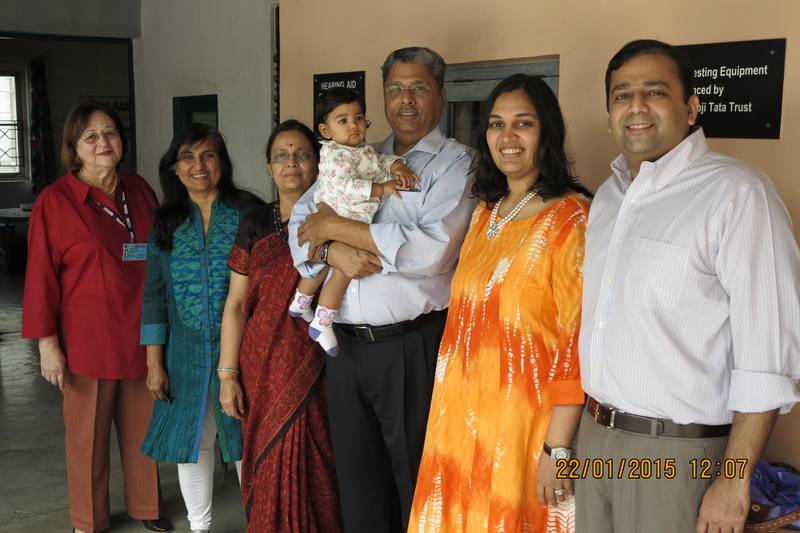 Doshi family - Battery bank donors