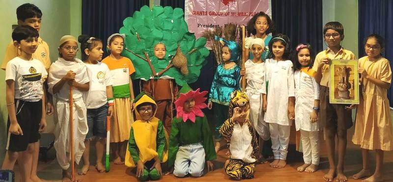 Fancy dress by kids on Independence Day