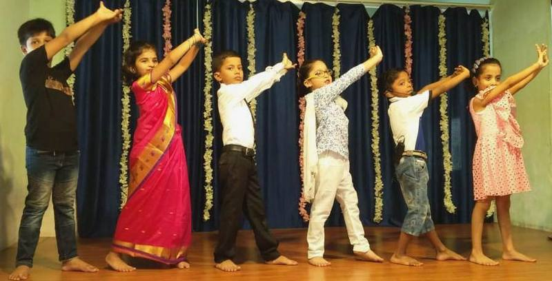 Dance recital on Teachers Day