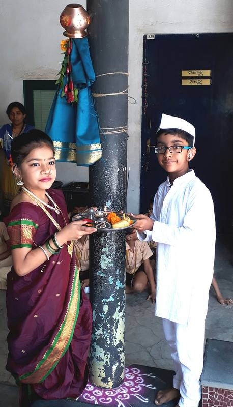 Puja on Gudhi Padwa Day