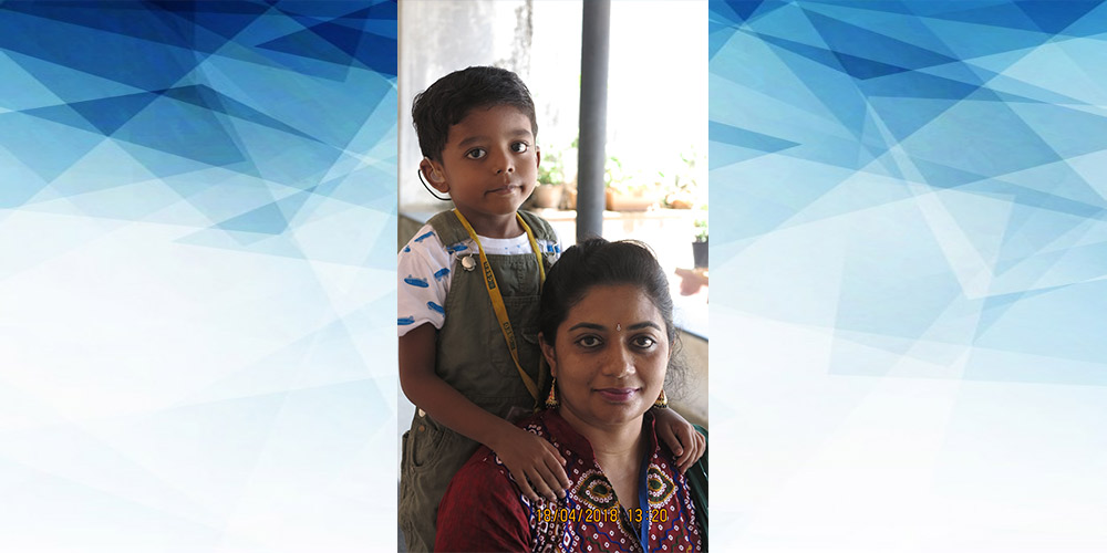 Akshaj and Divya Sreejith