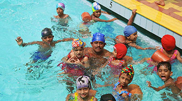 Swimming Coaching at CSED